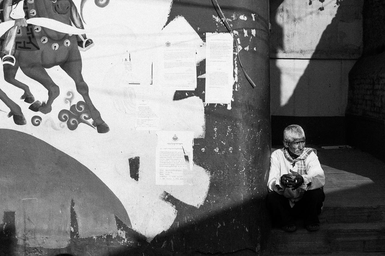 """Old man sitting"", Kathmandu Beats (2015)"
